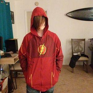 COPY - Flash zip up hoodie jacket DC comic